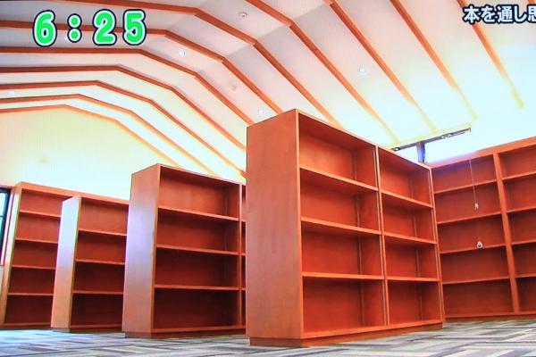 大町文庫2F本棚