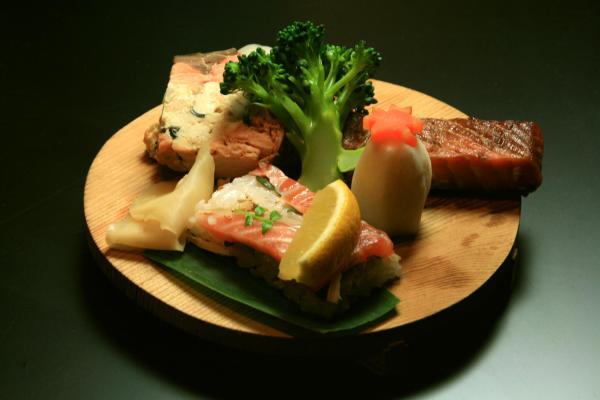 三面鮭御膳百選を味わい尽くす会第ニ回 鮭料理